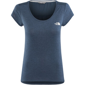 The North Face Inlux SS Top Damen blue wing teal dark heather